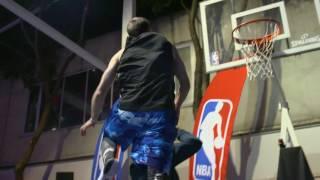 Jordan Kilganon Performs 720 Dunk At NBA House Brazil! Amazing Dunk Show   June 4th, 2017 Video