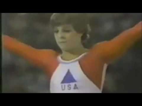 Mary Lou Retton 1984 Olympics Compulsory Beam