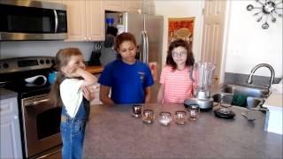 Kids In The Kitchen   German Chocolate Fudge Bites   Bloopers