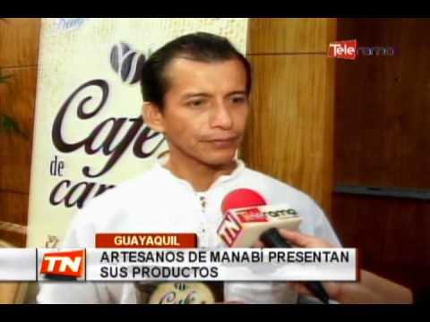 Artesanos de Manabí presentan sus productos