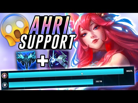 AHRI SUPPORT IS THE NEW WAY TO CARRY! – Off Meta Monday – League of Legends