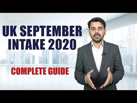 Study In UK | September Intake 2020 | Indian Students Visa | Study Abroad | International Students