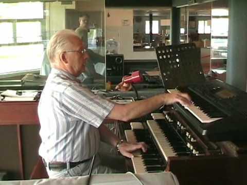 Skating16 Ralph Brown at the Organ