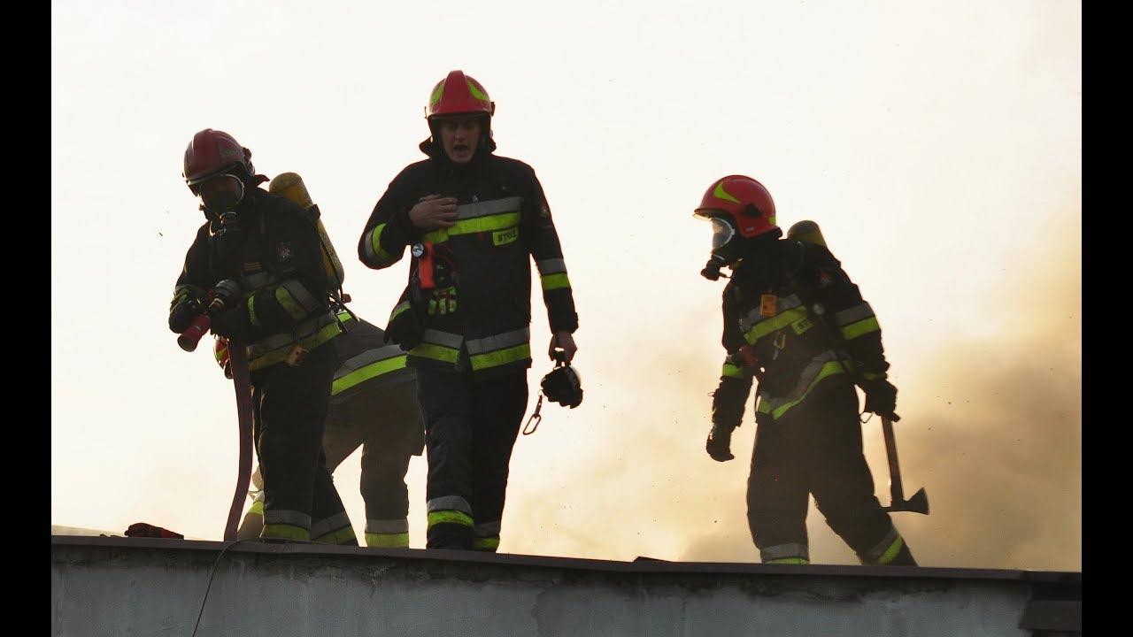 Pożar dachu domu przy Pstrązkiej w Rzuchowie – 2 października 2017
