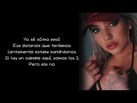Karen Méndez - Culpables - Letra (Manuel Turizo Cover)