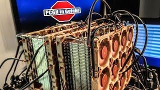 1.000€-CPU-Kühler mit 48 Mini-Lüftern | PCGH in Gefahr