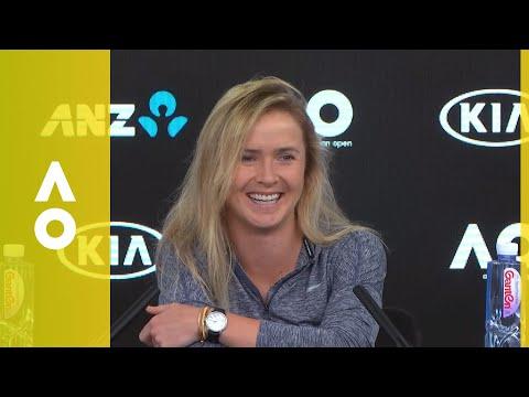 Elina Svitolina press conference (3R)   Australian Open 2018
