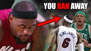 What You DON'T Know About The LeBron & Pierce NBA Rivalry (Ft. Trash Talk & A Lot of Playoffs)