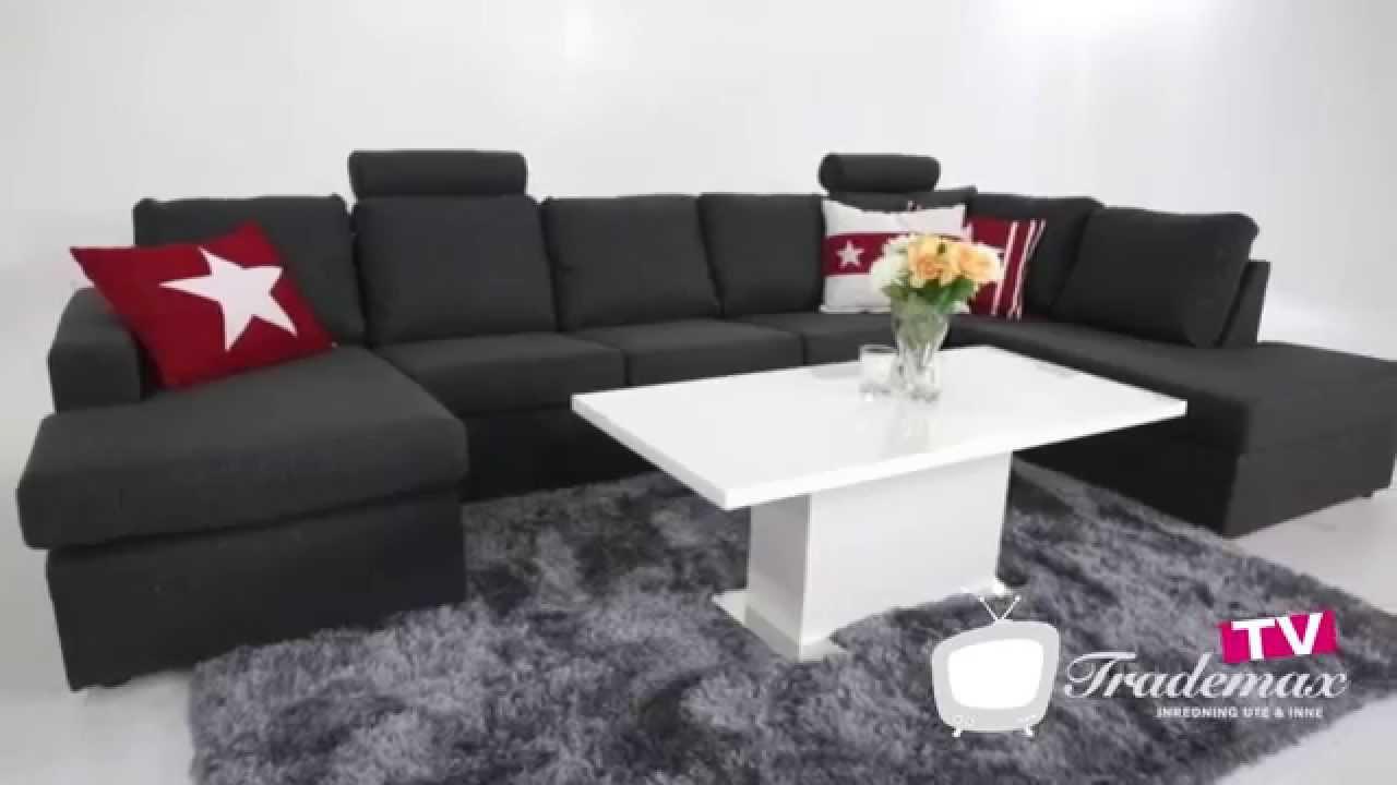 soffa mio blocket ~ crazy usoffa xl höger  youtube