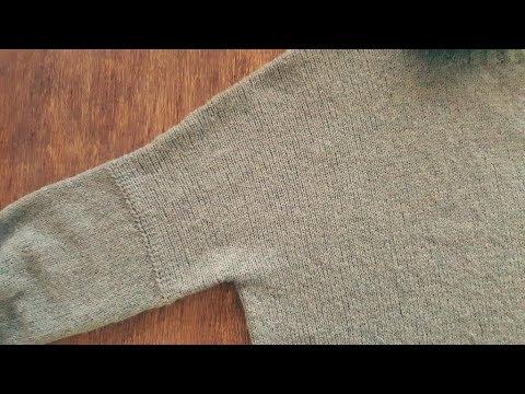 облачный свитер 4 я часть спицами мк школа вязания светланы
