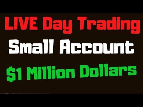 Live day trading penny stocks! Small account live stream thinkorswim