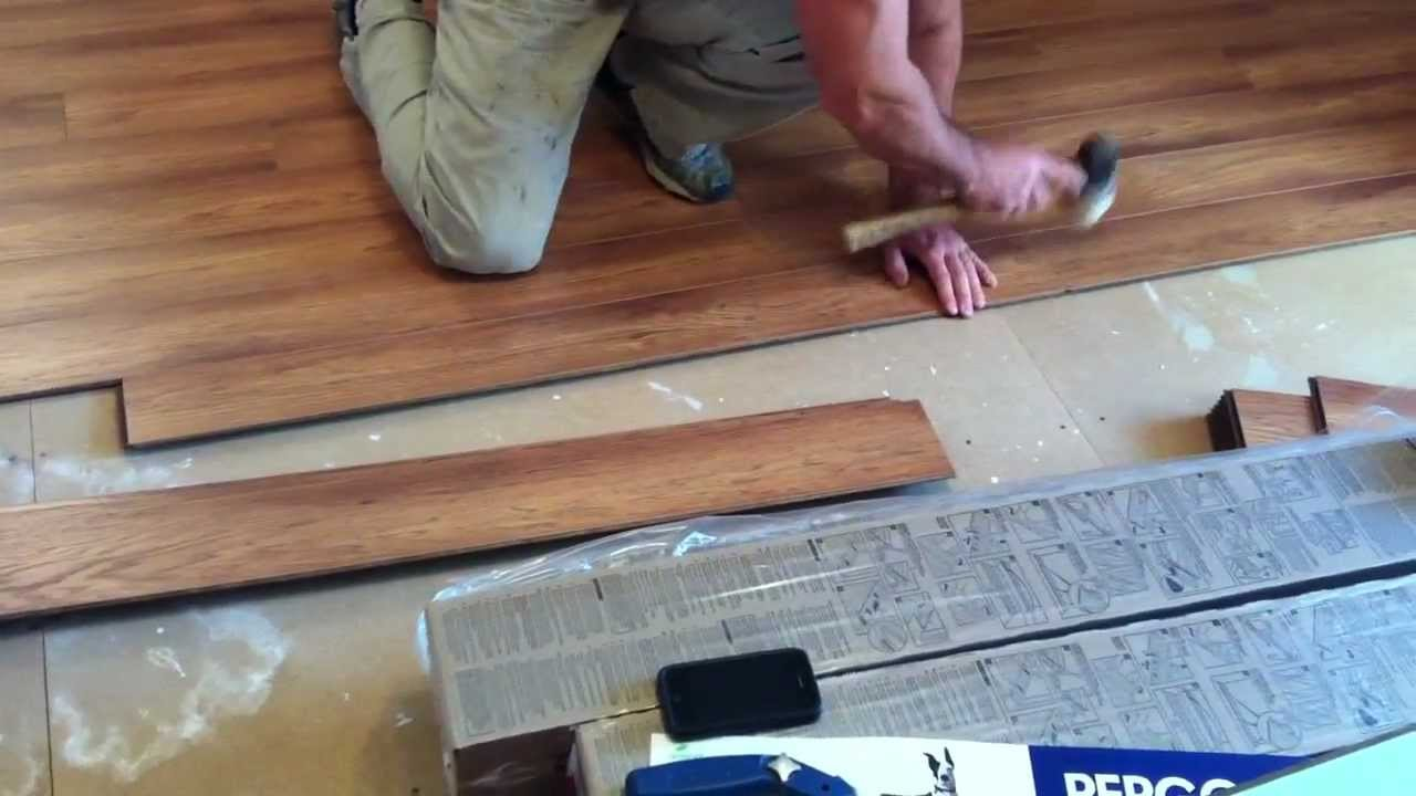 Pergo Laminate Flooring Installation Youtube