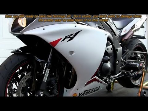 Diy 09 14 Yamaha Yzf R1 Oil Change Step By Step Do It Your Self Full Hd Video
