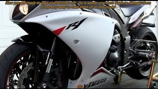 DIY: 09-14 Yamaha YZF-R1 Oil Change Step By Step / Do It Your Self FULL HD VIDEO