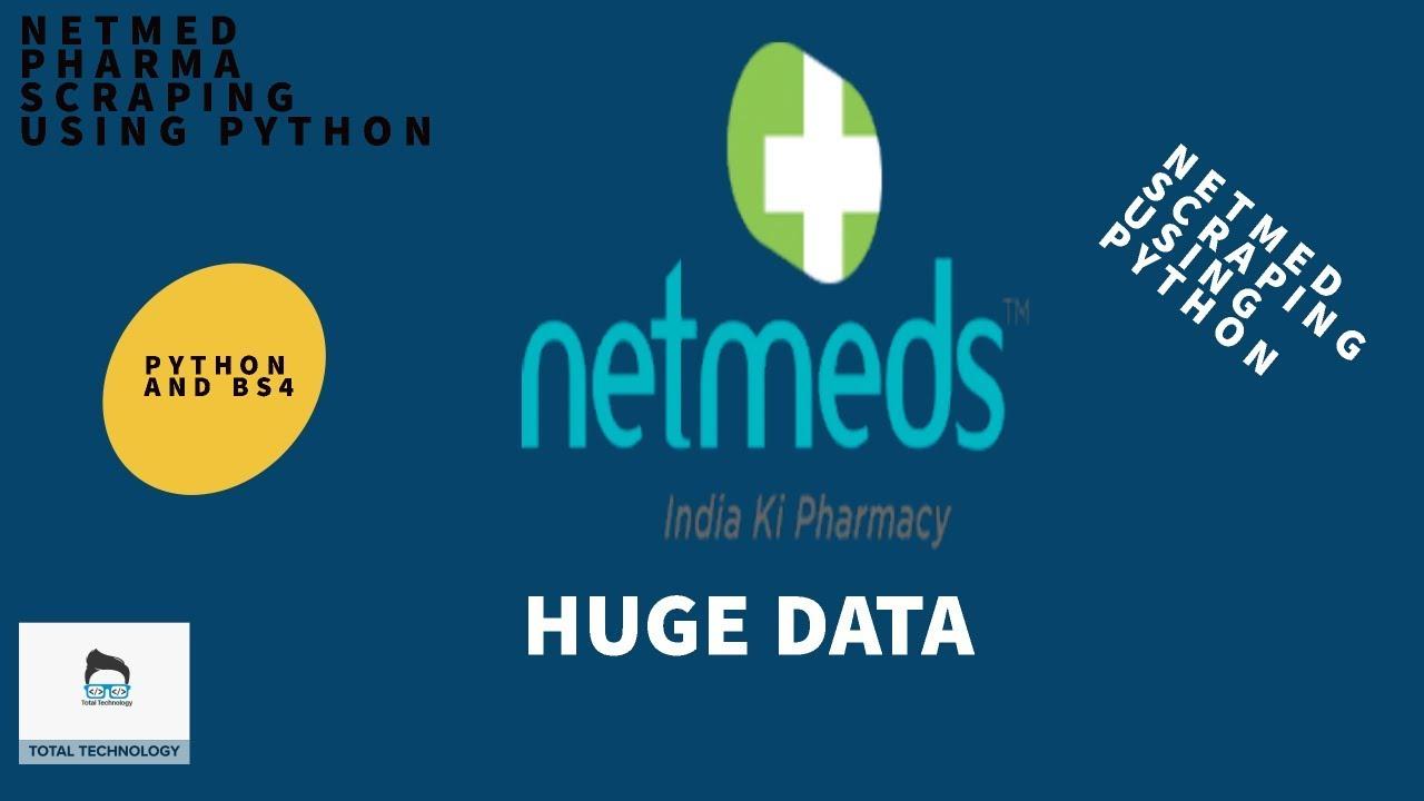 NETMED COM WEB SCRAPING USING PYTHON