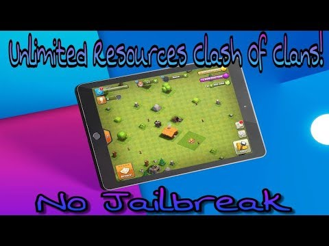 NEW (NO JAILBREAK) How To Get Unlimited Resources FREE In Clash Of Clans! (NO Computer) 2018