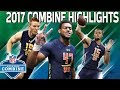 2017 Top Rookies Combine Highlights: McCaffrey, Watson, Fournette & More   NFL Highlights