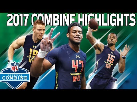 2017 Top Rookies Combine Highlights: McCaffrey, Watson, Fournette & More | NFL Highlights
