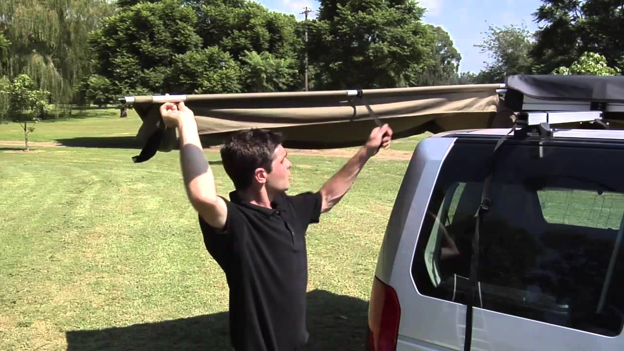 Rhino Rack And Oztent Present The Foxwing Part 4 How To Use Your