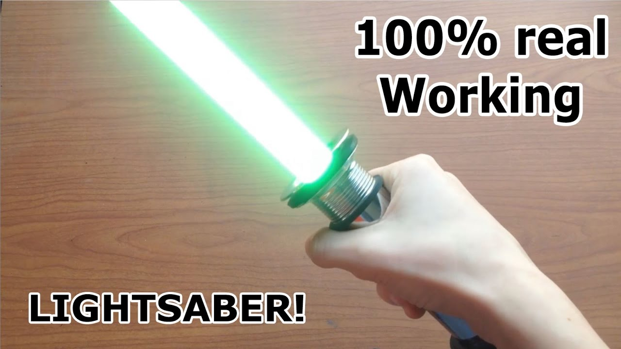 Making A Real Lightsaber Works 2017 Youtube