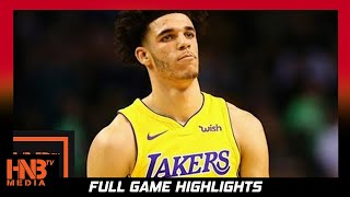 Los Angeles Lakers vs Washington Wizards 1st Qtr Highlights / Week 4 / 2017 NBA Season