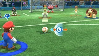 #Football( Extra Hard )Team Mario vs Team Sonic- Mario and Sonic at The Rio 2016 Olympic Games