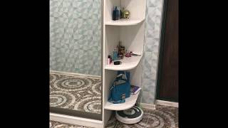 Хранение в коридоре. Шкаф- купе в прихожей