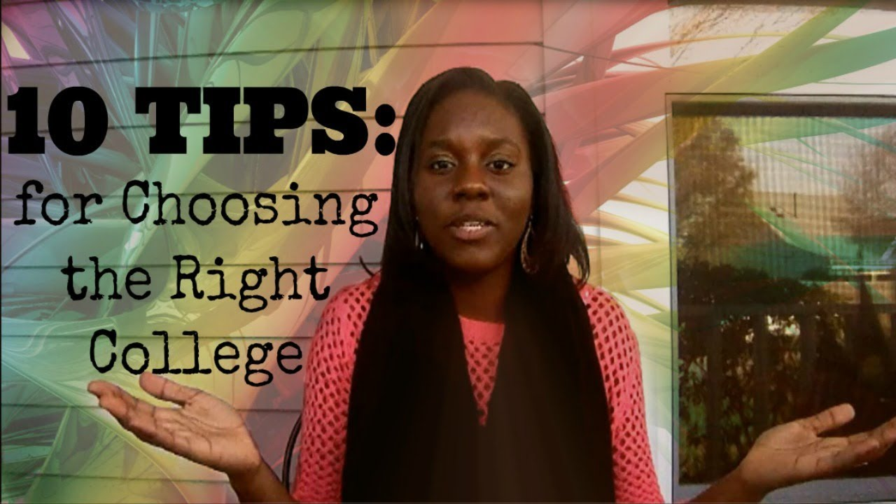 tips for choosing the right college fatimasjourney 10 tips for choosing the right college fatimasjourney