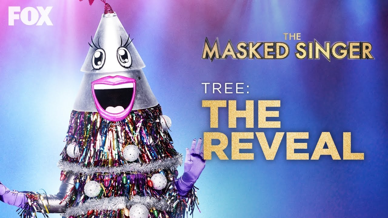 The Tree Is Revealed As Ana Gasteyer Season 2 Ep 10 The Masked Singer Youtube