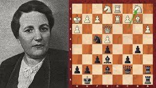 Lyudmila Rudenko: World chess champion who saved children in WW2 : Black vs Maria Iturralde
