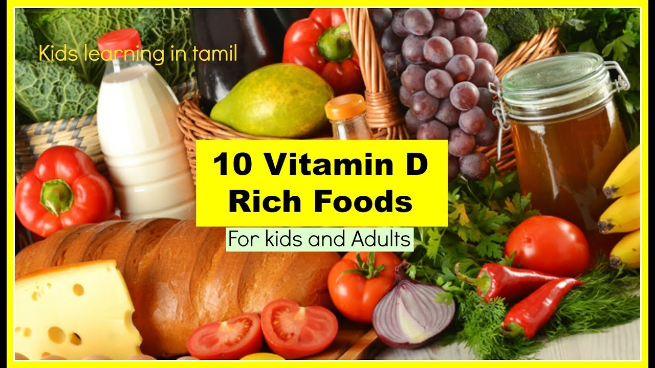 Top 7 Foods Rich In Vitamin D