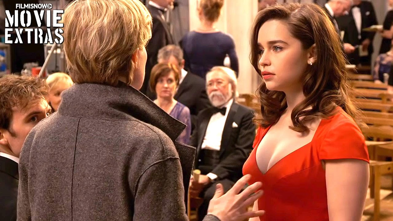 Go Behind The Scenes Of Me Before You 2016 Youtube