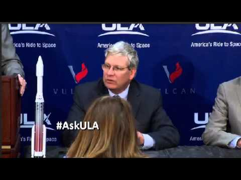 Download Youtube: United Launch Alliance Unveils Vulcan Rocket To The World
