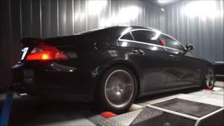 Reprogrammation moteur Mercedes CLS 63 AMG ShifTech