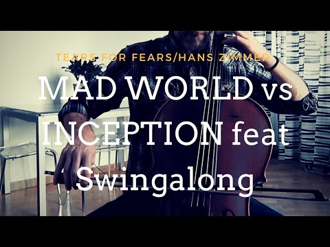 Mad World vs Inception (mashup) - GnuS Cello feat Swingalong (COVER)