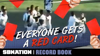 An Argentinian match once had a record 36 red cards | Record Book