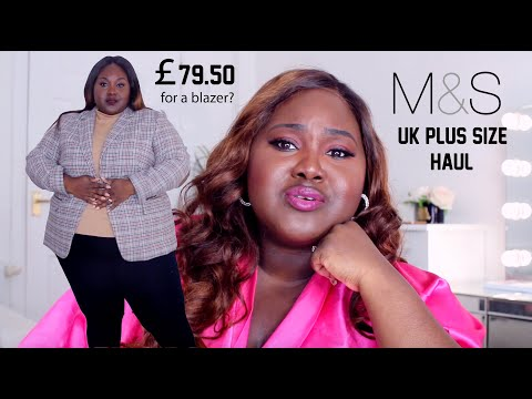 IS MARKS AND SPENCERS PLUS SIZE FASHION WORTH IT? PLUS SIZE UK HAUL FOR YOU SASSY CLASSY AND LADIES!