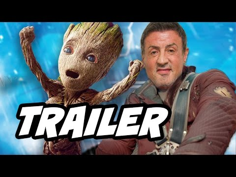 Guardians Of The Galaxy 2 Trailer and Sylvester Stallone Secret Character Explained