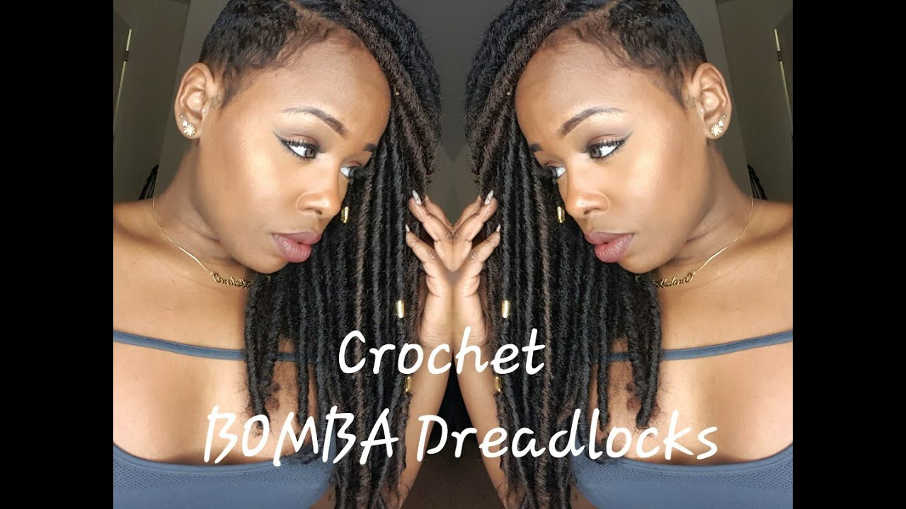 bomba dreadlocks crochet reviewinstall youtube