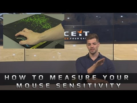 CS:GO - How to measure your mouse sensitivity - YouTube