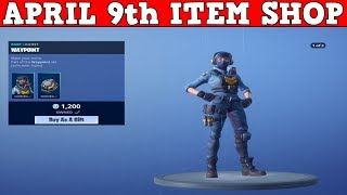 Fortnite Item Shop (April 9th) | SOCCER SKINS ARE STILL HERE... I NEED SOMETHING NEW EPIC!