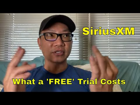 About The Sirius XM Radio Trial | Beware!