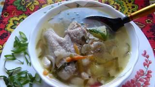 Такой суп с фасолью я еще не готовила/Деревенский обед/Сможет каждый