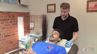 Learn Male Waxing : Men's Nostril Wax Tutorial
