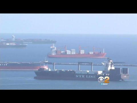 Congestion At Port Of LA May Delay Holiday Orders