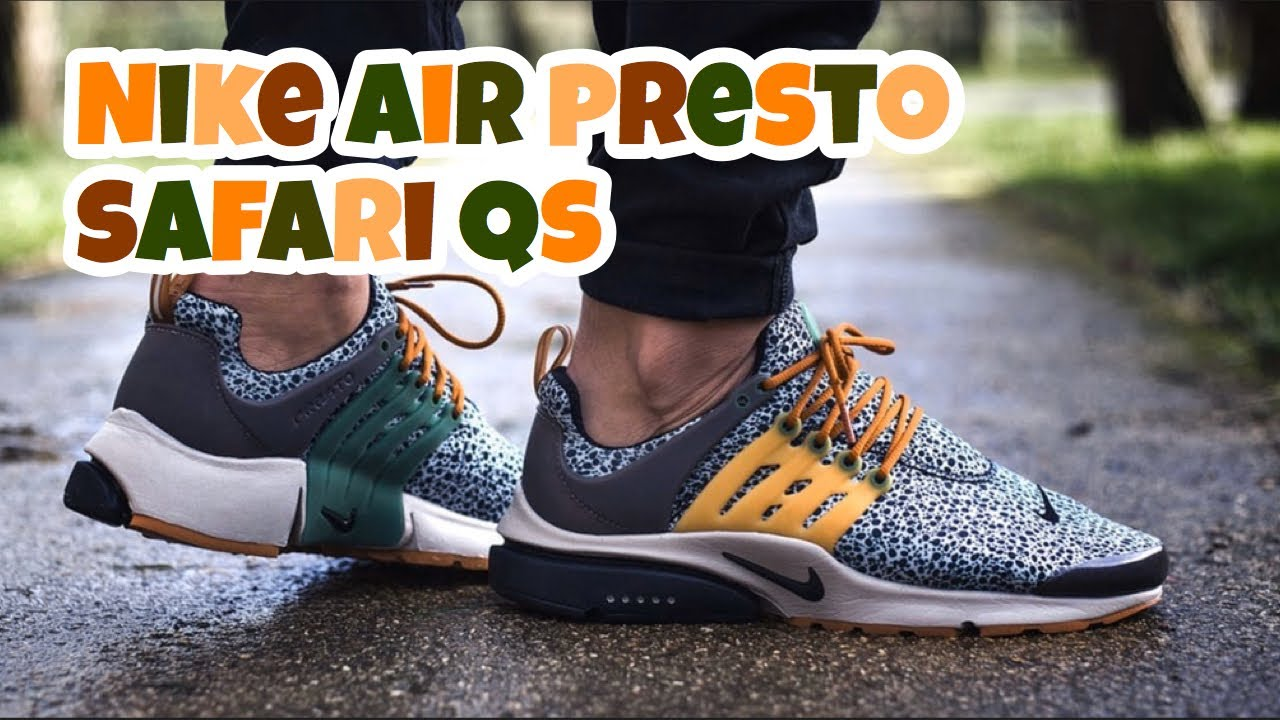 Presto Safari On Feet