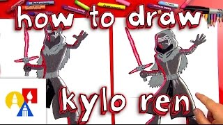 How To Draw Kylo Ren From Star Wars
