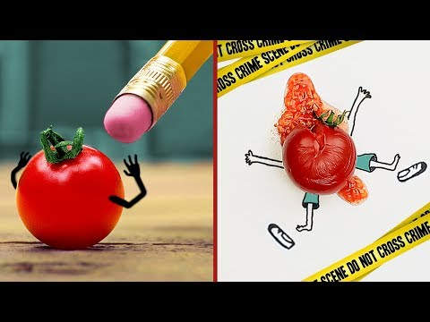 24 Awesome Drawing Tricks