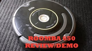 iRobot Roomba 650 Review/Demo