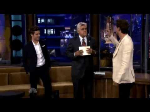 Tonight show - Lior Suchard and Zac Efron